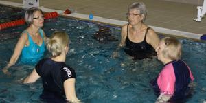 Group treatment in David Lloyd Pool Stevenage