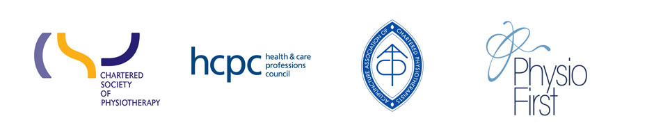 Physiotherapy accreditation logos