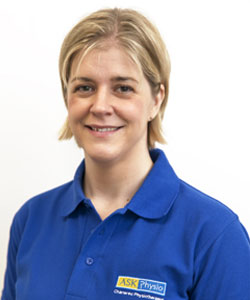 Sarah Kinsella – Clinical Specialist Physiotherapist